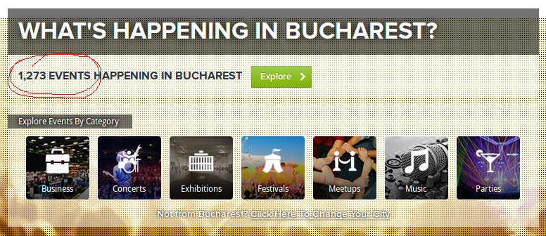 Buc - events